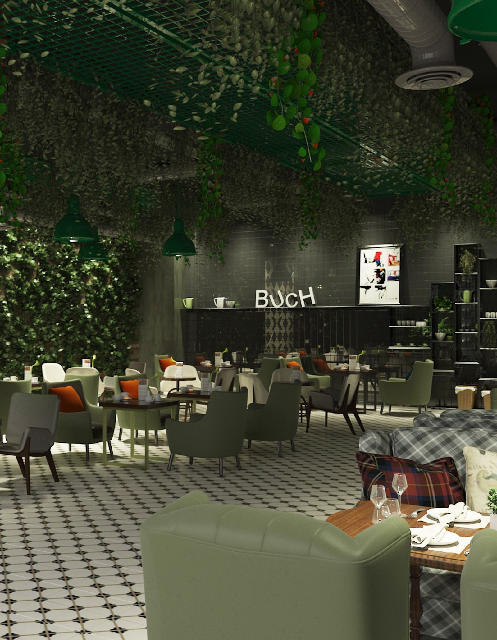 Buch Cafe
